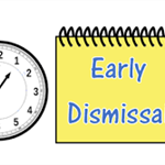 Early Dismissal - 1:00 (graphic)