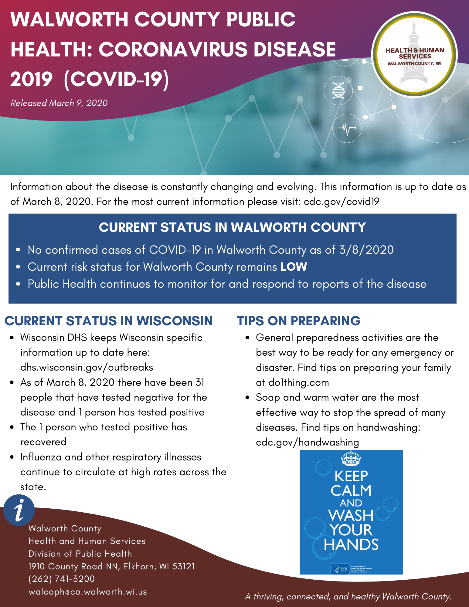 COVID-19 Weekly Update