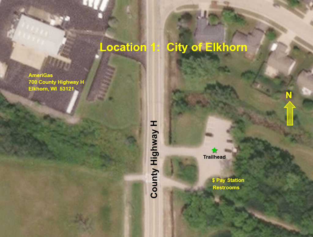 City of Elkhorn Aerial Map