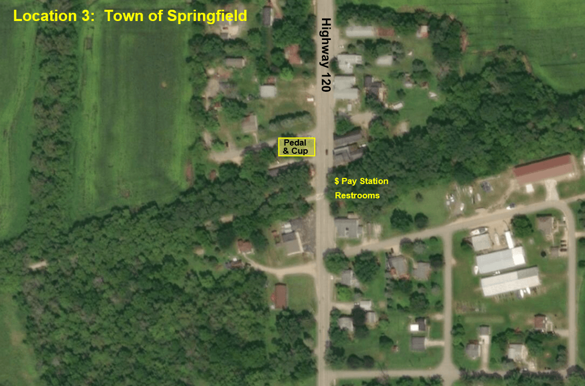 Town of Springfield Aerial Map