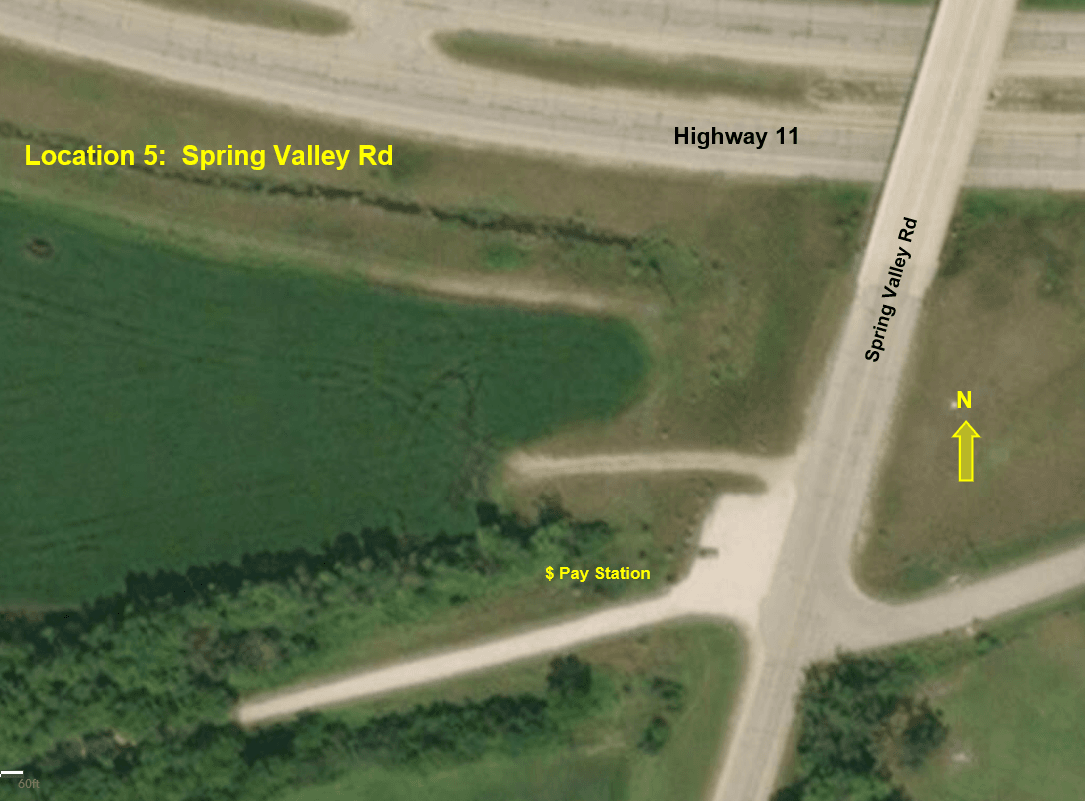 Spring Valley Rd Aerial Map