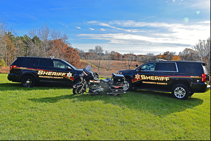 Sheriff Cars and Motorcycle