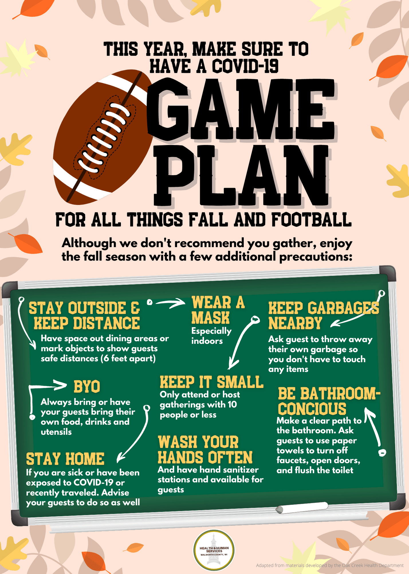 COVID Game Plan for Fall and Football